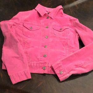 GAP Jean jacket pink jacket